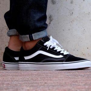 Mens Vans Old Skool Core Classics Black sneakers